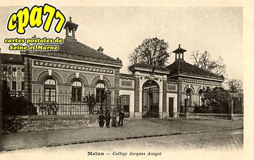 Melun - Collège Jacques Amyot
