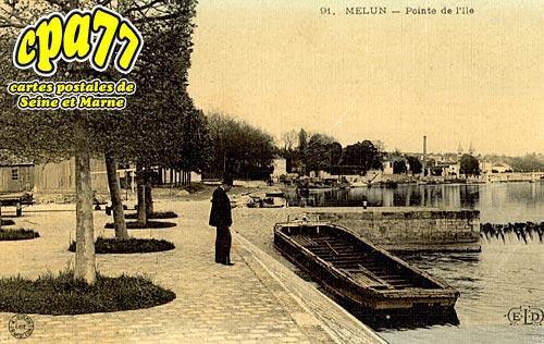 Melun - Pointe de l'Ile