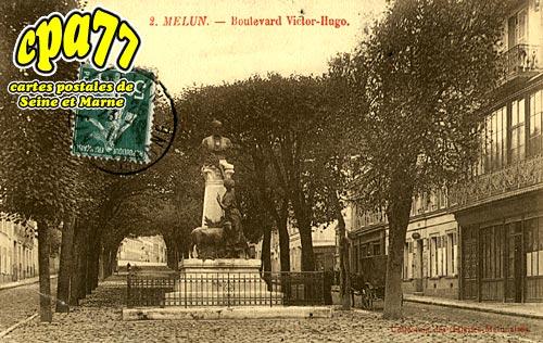Melun - Boulevard Victor Hugo