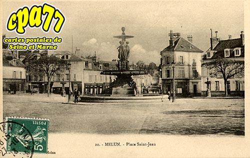 Melun - Place Saint-Jean