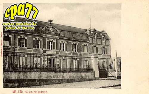 Melun - Palais de Justice