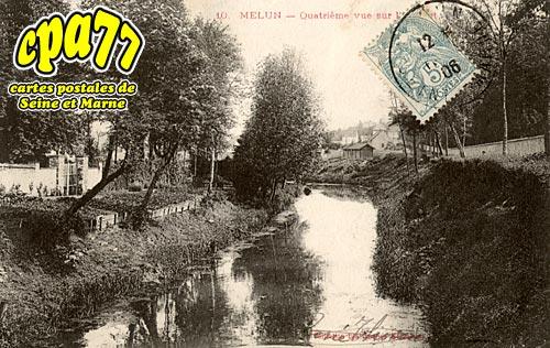 Melun - Passage de la Seine par le 18è Dragons