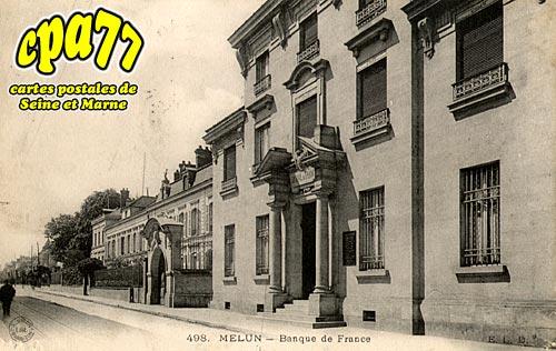 Melun - Banque de France