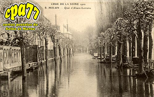 Melun - Quai d'Alsace Lorraine