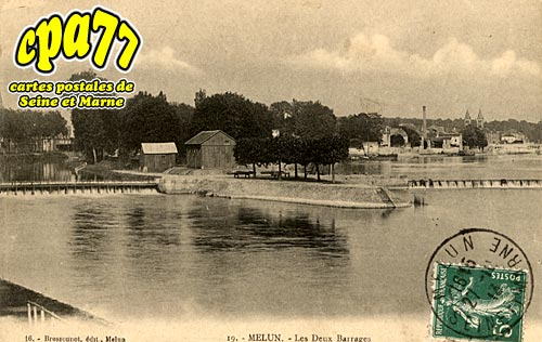 Melun - Les deux barrages