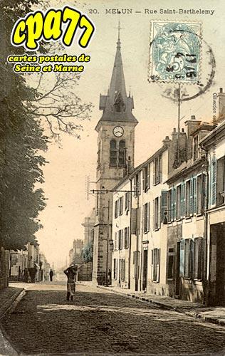 Melun - Rue Saint-Barthélémy