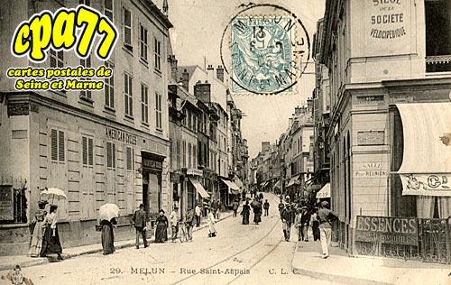 Melun - Rue Saint-Aspais