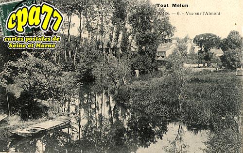 Melun - Vue sur l'Almont