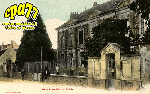 Le Mesnil Amelot - Mairie
