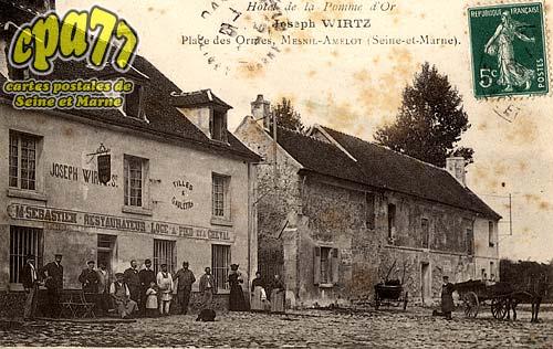 Le Mesnil Amelot - Hôtel de la Pomme d'Or - Joseph Wirtz - Place des Ormes, Mesnil-Amelot (Seine-et-Marne)