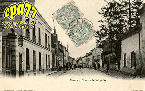 Messy - Rue de Moulignon