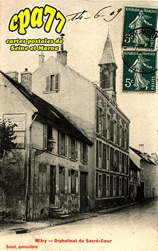 Mitry Mory - Orphelinat du Sacré-Coeur