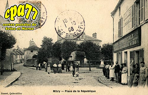 Mitry Mory - Place de la République