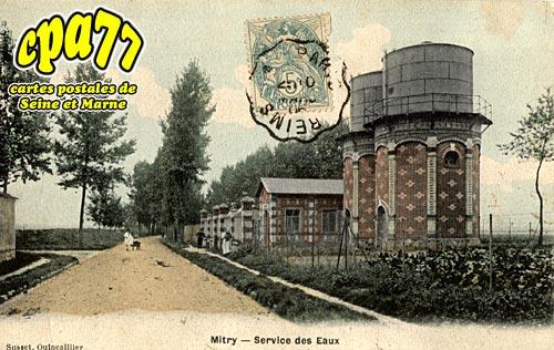 Mitry Mory - Service des Eaux