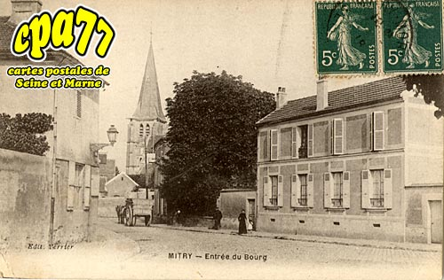 Mitry Mory - Entrée du Bourg