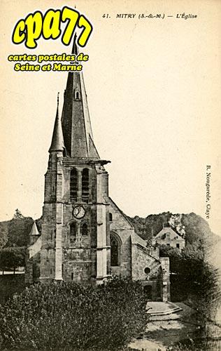 Mitry Mory - L'Eglise