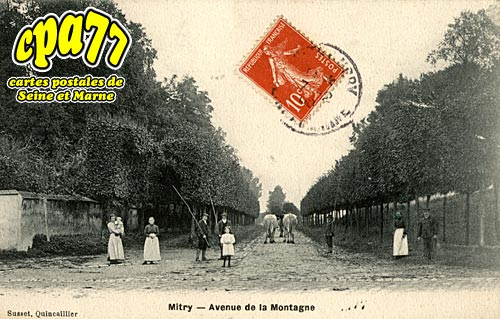 Mitry Mory - Avenue de la Montagne