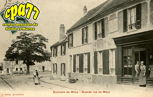 Mitry Mory - Grande Rue de Mory