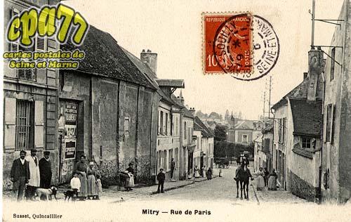 Mitry Mory - Rue de Paris