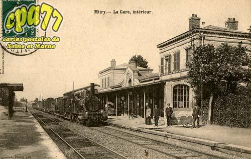 Mitry Mory - La Gare, intérieur
