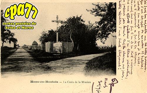 Mons En Montois - La Croix de la Mission
