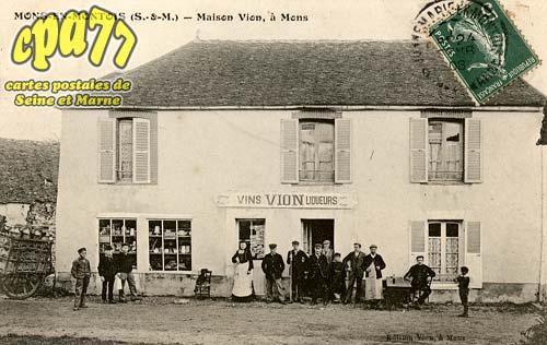 Mons En Montois - Maison Vion, à Mons