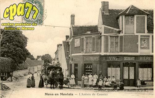 Mons En Montois - L'Arrivée du Courrier