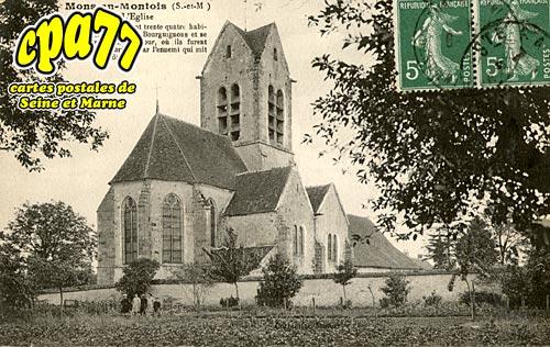 Mons En Montois - L'Eglise
