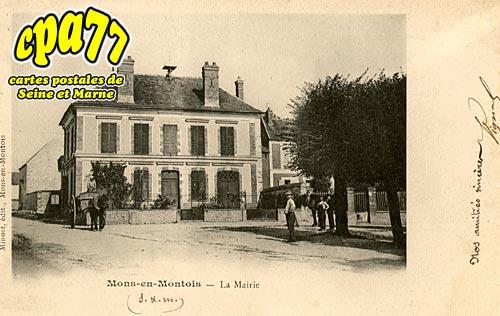 Mons En Montois - La Mairie