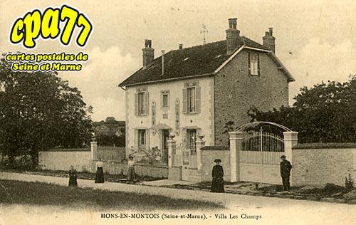 Mons En Montois - Villa Les Champs
