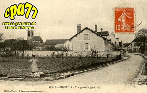 Mons En Montois - Vue générale (côté sud)