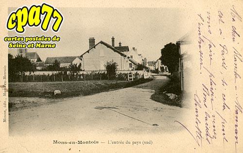 Mons En Montois - L'Entrée du Pays (sud)