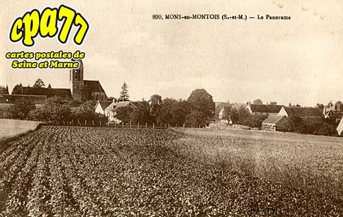 Mons En Montois - Le Panorama