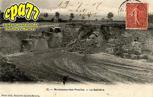Montceaux Lès Provins - La Sablière
