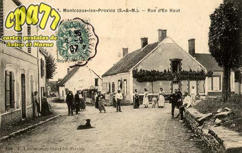 Montceaux Lès Provins - Rue d'En Haut