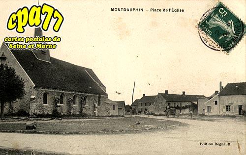 Montdauphin - Place de l'Eglise