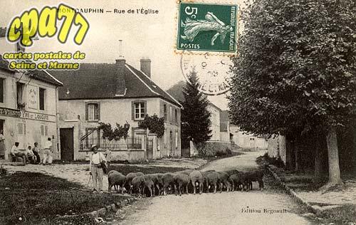 Montdauphin - Rue de l'Eglise