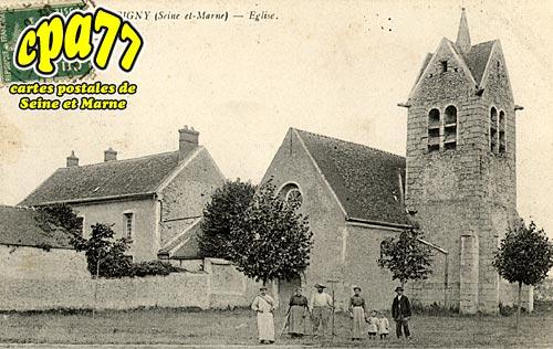 Montereau Sur Le Jard - Eglise d'Aubigny