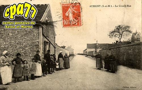 Montereau Sur Le Jard - Aubigny - La Grande Rue