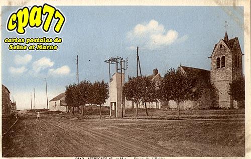 Montereau Sur Le Jard - Aubigny - Place de l'Eglise