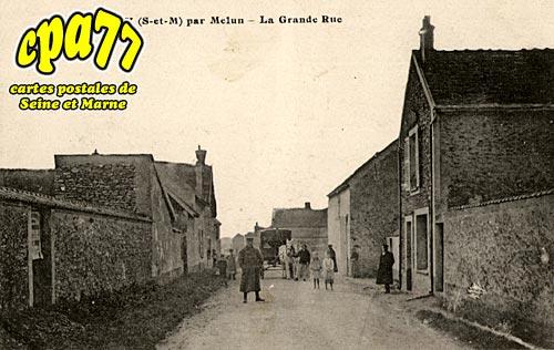 Montereau Sur Le Jard - Aubigny - La Grande-Rue