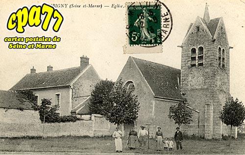 Montereau Sur Le Jard - Aubigny - Eglise