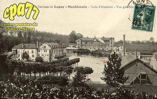 Montévrain - Environs de Lagny-Montévrain - Ecole d'Alembert - Vue générle