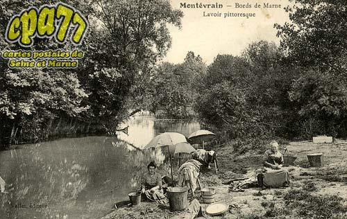 Montévrain - Bords de Marne - Lavoir pittoresque