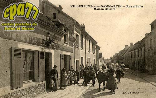 Montgé En Goële - Villeneuve-sous-Dammartin - Rue d'Enfer - Maison Cottard