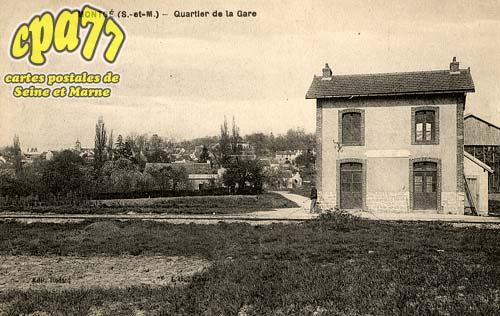 Montgé En Goële - Quartier de la Gare