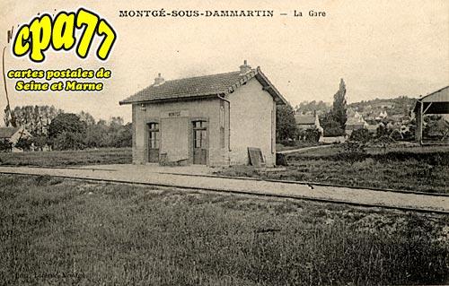Montgé En Goële - La Gare