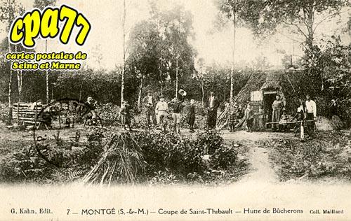 Montgé En Goële - Coupe de Saint-Thibault - Hutte de Bûcherons