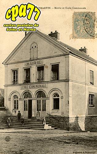 Montgé En Goële - Mairie et Ecole Communale