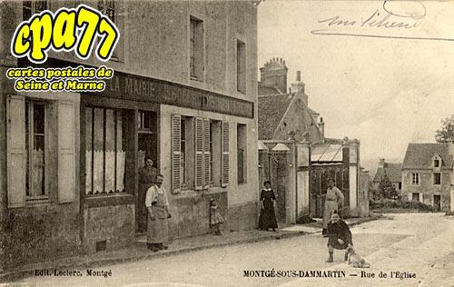 Montgé En Goële - Rue de l'Eglise